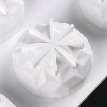 DIY silikonowe gliny aromaterapia tabletki formy mydło formy silikonowe formy ozdoby wosk formy mydło formy akcesoria rzemieślnicze mydło formy tanie i dobre opinie BSIDE CN (pochodzenie) Silicone Mold Soap Mold Other 3D Mold Aromatherapy Tablets Molds White About 29 6x17cm 11 65x6 69inch