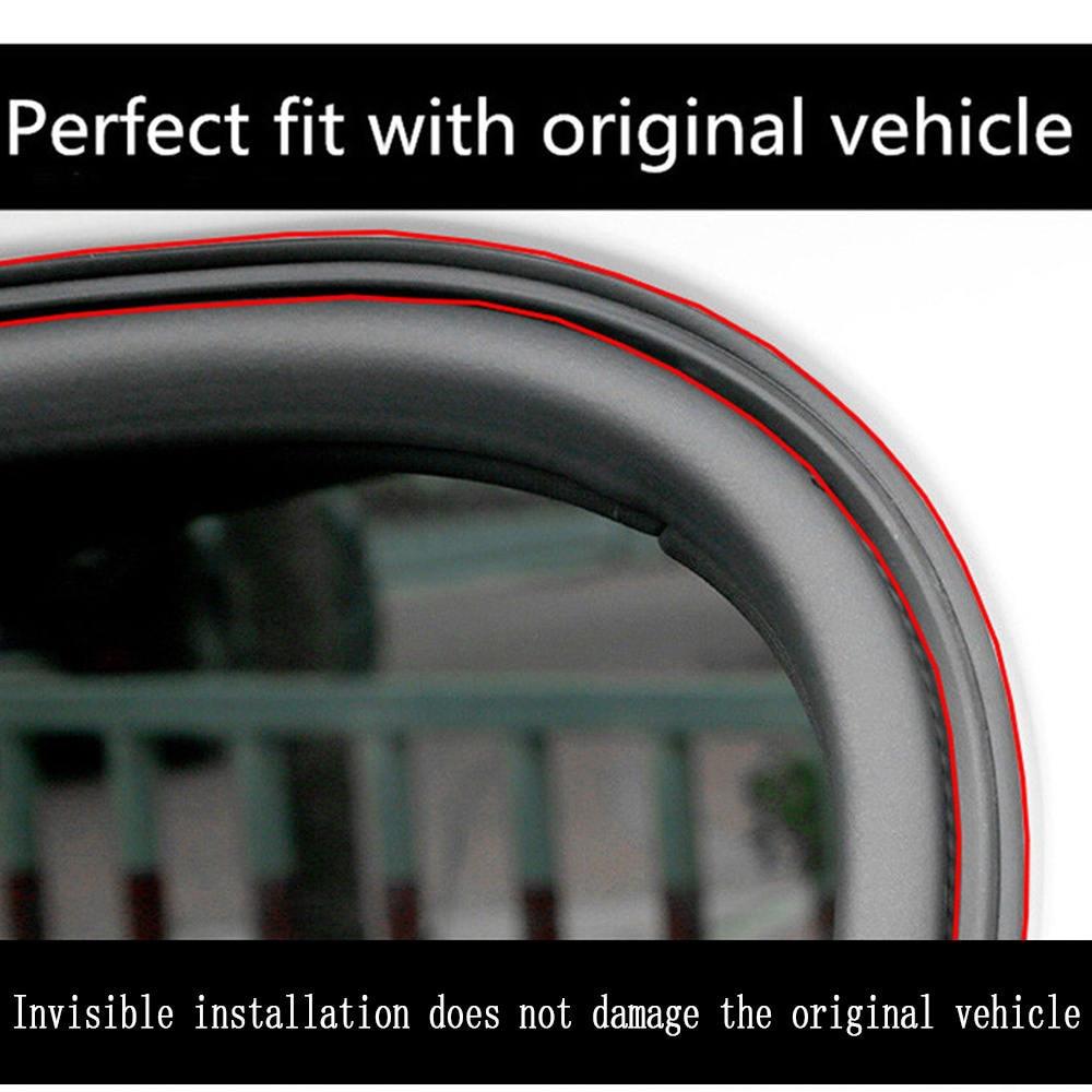5M L Shape Car Door Hood Trunk Trim Edge Moulding Rubber Weatherstrip For Car
