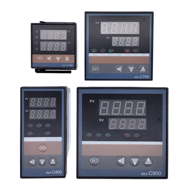 <font><b>REX</b></font>-C100 <font><b>PID</b></font> intelligent temperature controller <font><b>REX</b></font> C100 C400 C700 <font><b>C900</b></font> Thermostat SSR Relay output image