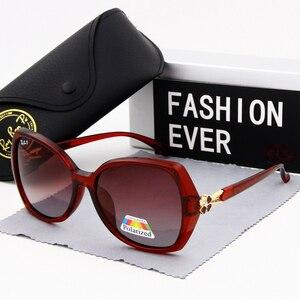 Image 3 - Kadın gözlük güneş gözlüğü polarize moda bağbozumu 2019 yeni marka tasarımcısı kadın sürüş güneş gözlüğü UV400