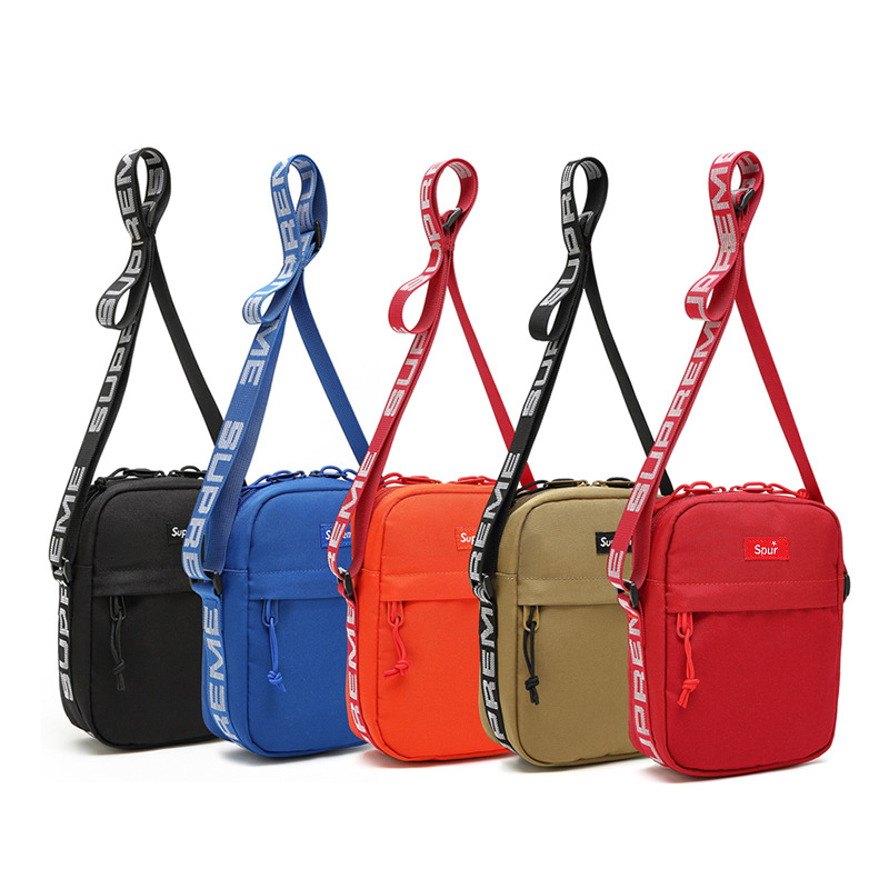 Fashion Classic Men And Women Sports Drand Youth Student Shoulder Bags Slung Mobile Phone Dag Ins Girls Outdoor Sports Dag Supre