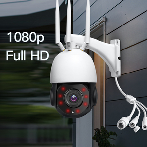 Image 2 - Caméra de Surveillance dôme extérieure IP WiFi 3G/4G HD 1080P, dispositif de sécurité domestique sans fil, avec emplacement pour carte SIM, Zoom optique x30