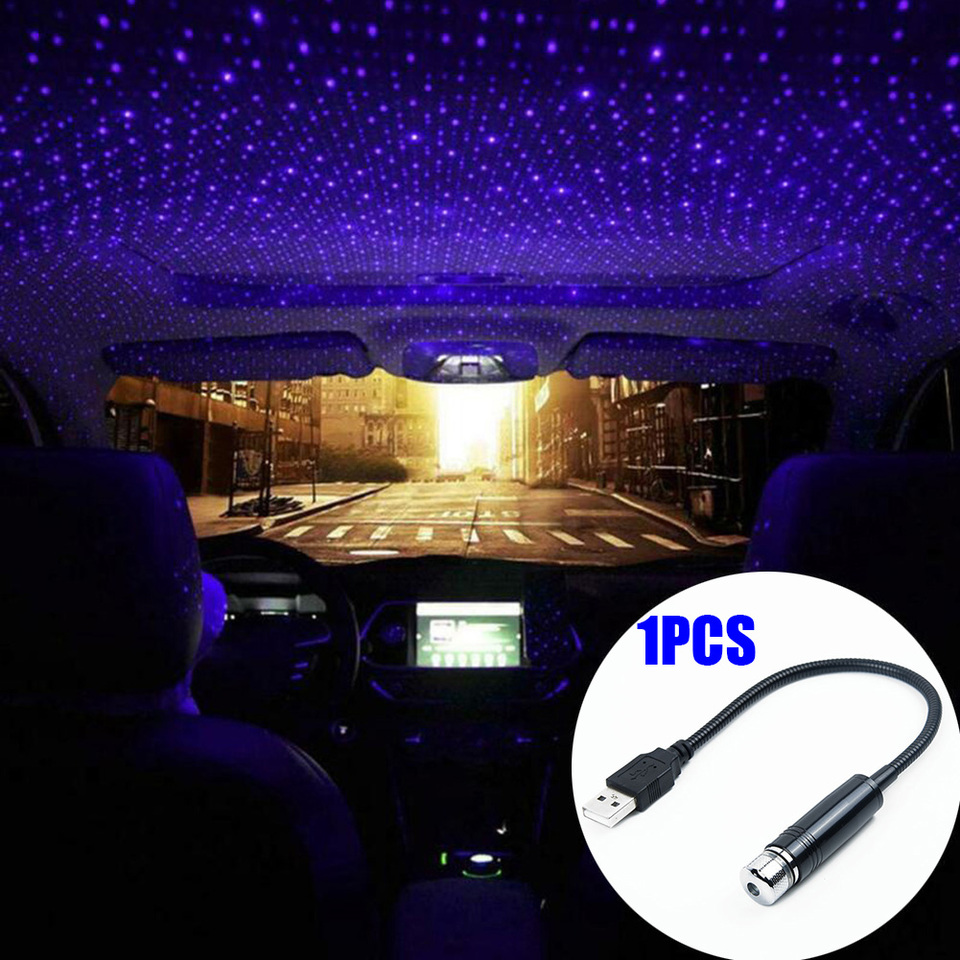 Lamp Interior Ambient Star Lights Led