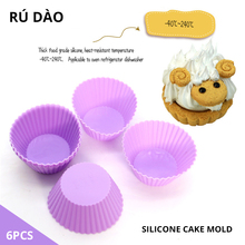 6pcs Silicone Mold Heart Cupcake Soap Silicone Cake Mold Muffin Baking Nonstick and Heat Resistant Reusable Silicone Cake Molds new silicone mold heart cupcake 6pcs cake mold muffin baking nonstick and heat resistant reusable silicone cake molds muffin diy