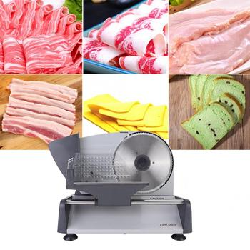 Automatic Meat Cutting Machine Household Electric Food Slicer Vegetable Fruit Slicing Machine Lamb Slices Hot Pot EU 220-240V meat cutting machine mini meat slicing machine small meat slicer