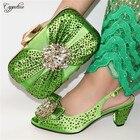 High class green pum...