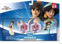Oficial Da Disney Infinito 2.0 Aladdin & Jasmine Playset Pack Acessórios Do Jogo PS3/PS4/XBOX360/Wii