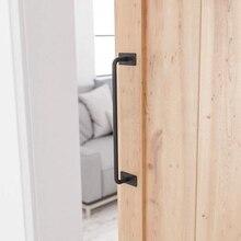 Горячая XD-черная сверхмощная стальная дверная ручка сарая для дверных ручек шкафа