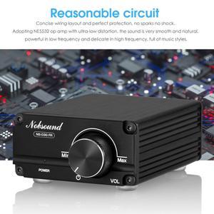 Image 3 - Douk Audio Hi Fi 100W Mini TPA3116D2 caisson de basses/amplificateur de puissance pleine fréquence amplificateur Audio numérique Mono canal