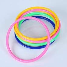 10pcs Quoits Children Games Plastic Colorful Sports Agility