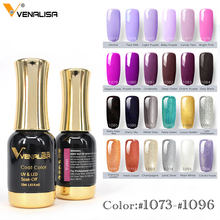 Nail Art 2020 Baru Venalisa Cat Kuku Gel 12 Ml 120 Warna Gel Cat Kuku Gel Rendam Off Uv Gel bahasa Polandia Nail Lacquer Pernis(China)