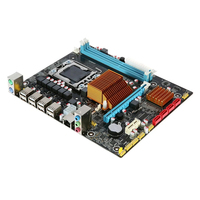 X58 1366 Home Dual Channel Professional CPU Durable ECC Memory Teaching Desktop DDR3 Single Stable Replacement Motherboard Set