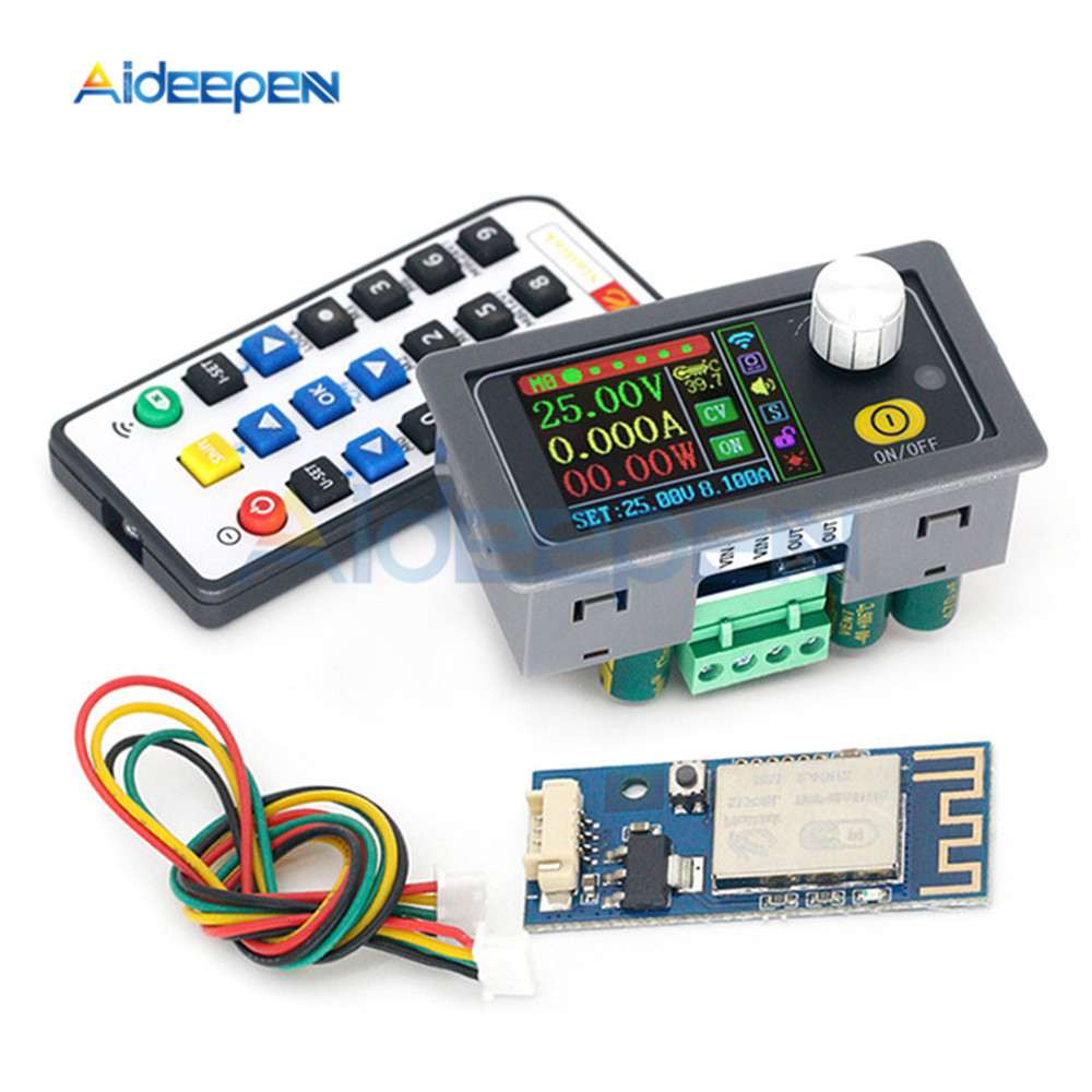 XY5008 DC DC convertisseur mâle numérique CC CV 0-50V 8A 400W Module dalimentation réglable régulé laboratoire alimentation Variable Wifi