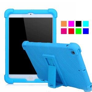 Детский силиконовый чехол для Apple iPad Mini 5 2020, противоударный чехол с подставкой для iPad Mini 4 3 2 1 7,9 дюймов, чехлы для планшетов