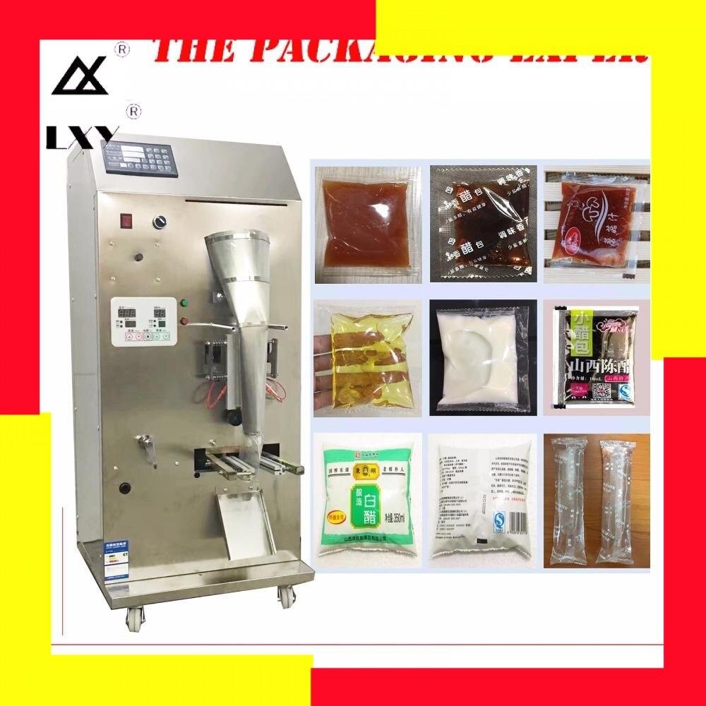 Machine à emballer de vinaigre de Sauce de soja entièrement automatique eau liquide assaisonnement paquet soupe d'huile remplissage automatique et étanchéité livraison gratuite