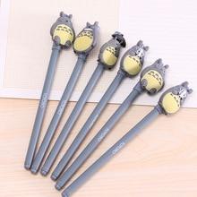 Stationery Gel-Pens Gifts Animals Novelty Girls Writing School Cute Kawaii Gray 1pcs