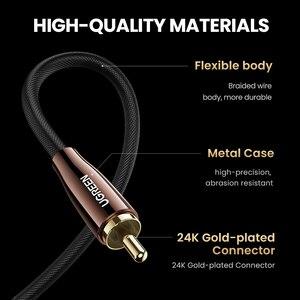 Image 2 - Ugreen HiFi 5,1 SPDIF RCA zu RCA Stecker auf Stecker Koaxialkabel Stereo Audio Kabel Nylon 3m 5m RCA Video Kabel für TV Verstärker Hause