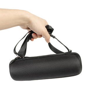 Image 5 - Hard Eva Shockproof Reizen Carry Kolom Case Cover Pouch Voor Jbl Flip 5 Flip5 Draadloze Bluetooth Speaker Met Riem Extra ruimte