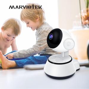 Image 1 - 720P радионяня Wi Fi IP камера Videcam детское Радио Видео няня электронная ПА Домашняя безопасность детская камера ИК для дома детский телефон
