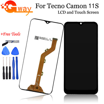 """6.2"""" For Tecno Camon 11s CB7 LCD Display Black For Tecno Camon 11S CB7 LCD Screen Touch Screen Digitizer Assembly+Free Tools"""