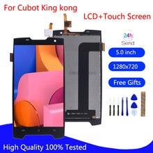 Оригинальный ЖК дисплей cubot king kong сенсорный экран дигитайзер