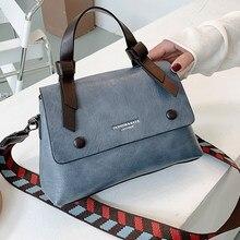 7 Colors PU Leather Shoulder Bags for Women 2020 Fashion Solid Color Female Crossbody Bag Brand Designer High Quality Handbags