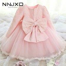 White Dress Clothing Christening-Gowns Newborn Baby-Girl 2-Years-Old Months Kids Children