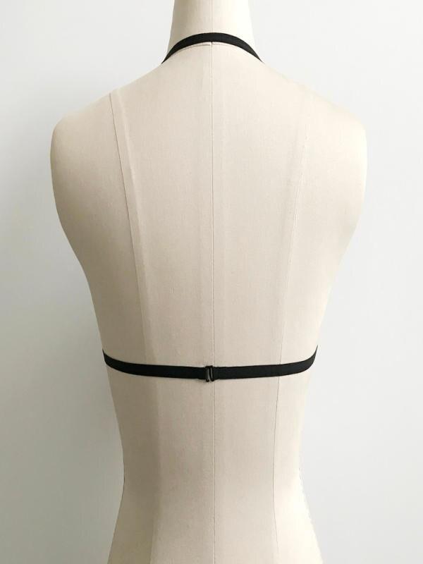SAGACE Womens 2020 Lingerie Hollow Strappy Bustier Black Bandage Lingerie Corset Push Up Top Bralette Cage Bra Underwear sexy