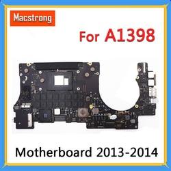 Prueba Original A1398 placa base para MacBook Pro Retina 13 15 Late2013 2014 i7 2,2 GHz 2,3 GHz 2,6 GHz 16GB RAM placa lógica 820-3662-A