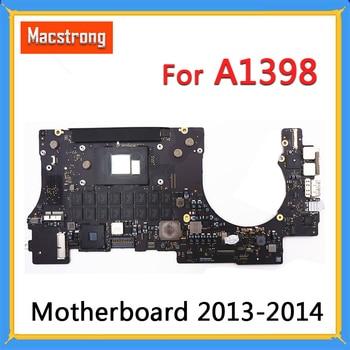 "Tested Original A1398  Motherboard for MacBook Retina 15"" Late2013 2014 i7 2.2 GHz 2.3GHz 2.6GHz 16GB RAM Logic Board 820-3662-A"