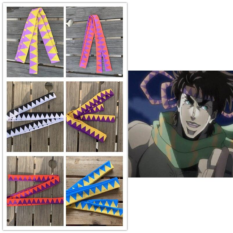 H01 redCherry Anime JoJos Bizarre Adventure C/ésar Anthonio Zeppeli Bandeau Bande De Cheveux Cosplay Prop Chapeaux
