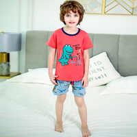 SAILEROAD Baby Mädchen Pyjamas Cute Cartoon Giraffe Langarm Pyjamas Set Kinder Pyjamas Kind Baumwolle Pijama Jungen Homewear Kleidung