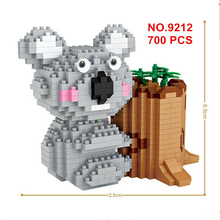 Diamond Blocks Action Educational Bricks Toys for Children DIY Kawaii Mini Building Blocks Bricks Educational Toys