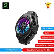 Оригинальный черный Shark 2 3 FunCooler Pro BR20 приложение Управление Bluetooth мобильный телефон кулер вентилятор PUBG Gamer Мобильный телефон Аксессуары