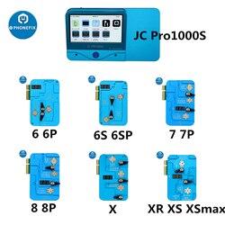 JC Pro1000S EEPROM IC herramienta de reparación de banda base lógica EPROM IC máquina de escritura de lectura para iPhone 6 6S 7 8 X XR XS herramienta de reparación de Error máximo