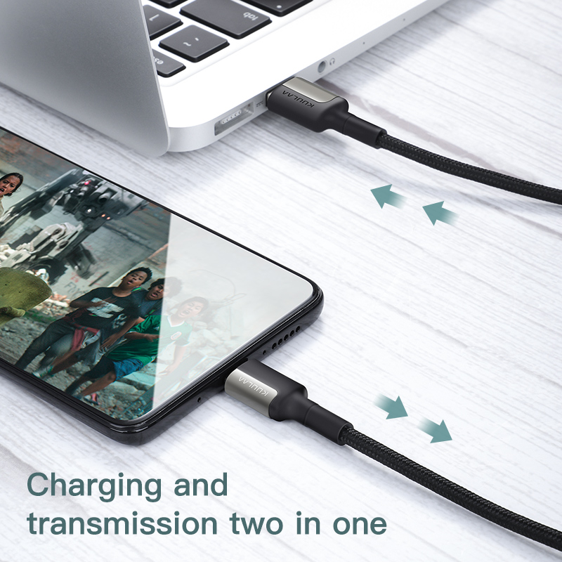 KUULAA 5A USB Type C Cable for Huawei Mate 20 Pro P20 Lite Supercharge USB C Fast Charging Cable Type-C Cable for Huawei P30 Pro 6