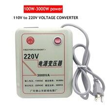 500W-3000W Voltage Converter Transformer 110V-120V TO 220V-240V AC Power Step Up Voltage Converter Adapter Transformer Converter