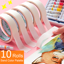 Masking Tape Watercolor Oil Painting 5/10 Volumes 13m For Painting Writable Don't Hurt Paper Hand Tearing Traceless Masking Tape