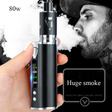 Original 80w Vape kit Built-in 2200mah Battery 3.0ml tank Electronic Cigarette Huge Vaporizer E shisha Hookah box mod vape pen купить недорого в Москве