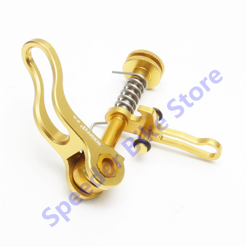 Aceoffix Brompton seatpost clamp sp05 for 31.8 Seat post Titanium alloy shaft  a