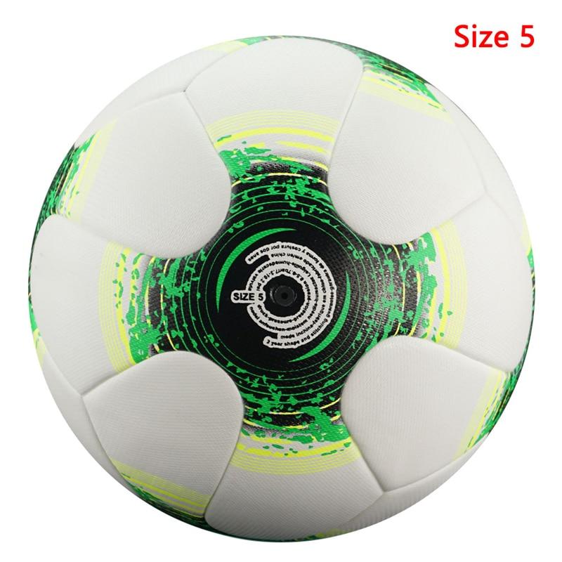 Professional Size5/4 Soccer Ball Premier High Quality Goal Team Match Ball Football Training Seamless League futbol voetbal 12