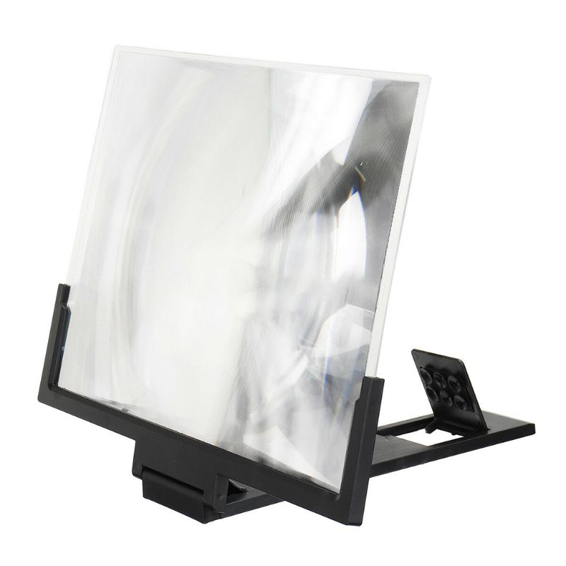 14 Inch High Definition Folding Screen Amplifier Phone Magnifier Stand Holder 3