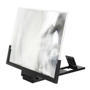 Image 3 - 14 אינץ בחדות גבוהה מסך מתקפל מגבר טלפון זכוכית מגדלת Stand מחזיק
