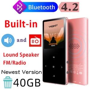 IQQ X2 Bluetooth 4.2 Lossless MP3 Player 40GB HiFi Portable Audio Walkman With FM Radio EBook Voice Recorder MP3 Music Player