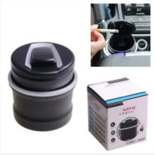 Car personality LED car ashtray for Honda civic 2011 2012 city accord fit jazz crv hrv car 2008 Car Accessories(China)