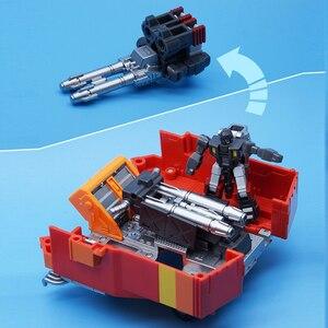 Image 5 - MFT Lodivin שינוי תיקון להבה מפקד עיוות MechFans MS19 MS 19 פעולה מיני איור רובוט צעצועי 12cm עם תיבה