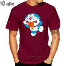 Mannen T-shirt Korte Mouw Doraemon Freak Doraemon T-shirt Een Hals Vrouwen T-shirt 9466A
