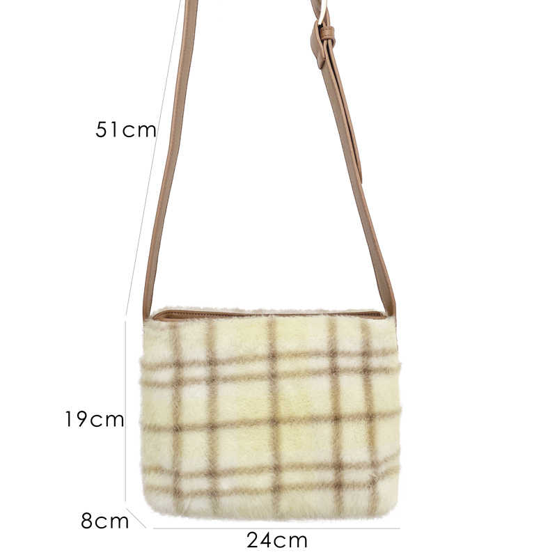 Nuevos bolsos de invierno de 2019 para mujeres, bolsos de hombro pequeños de piel sintética para mujeres, bolso de mensajero coreano para damas, bolso de bandolera elegante, venta al por mayor