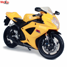 Maisto 1:12 Suzuki GSXR600 Scrambler simulation alloy motocross Series original authorized motorcycle model toy car Collecting gifts