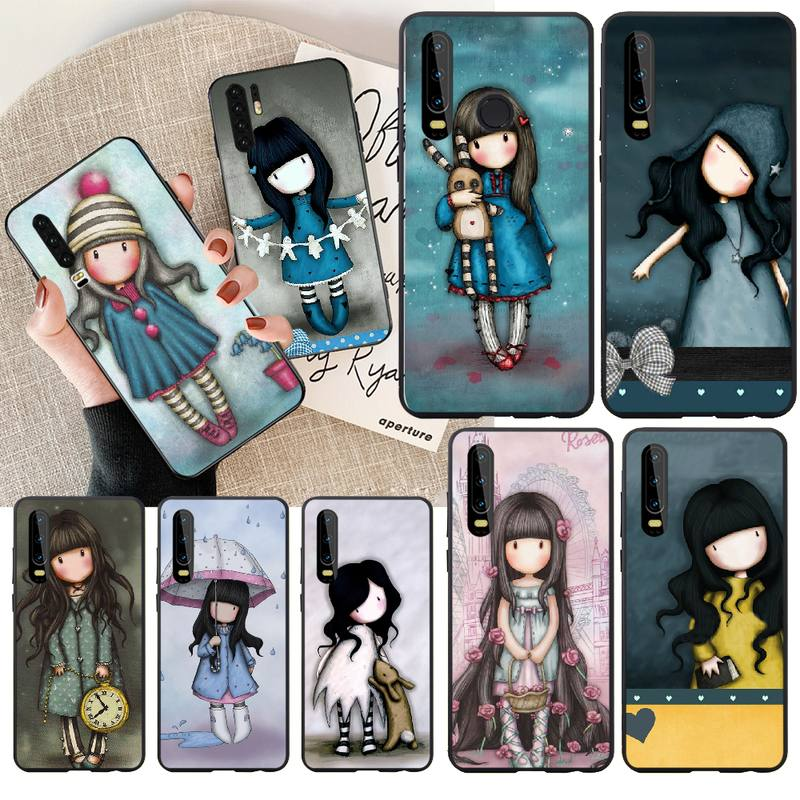 PENGHUWAN Santoro Gorjuss Customer High Quality Phone Case for Huawei P30 P20 P10 P9 P8 Mate 20 10 Pro Lite(China)